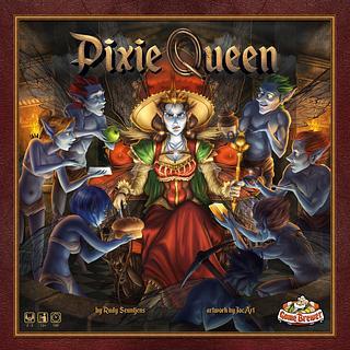 Portada juego de mesa Pixie Queen