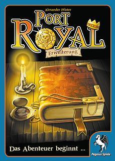 Portada juego de mesa Port Royal: La Aventura Comienza...