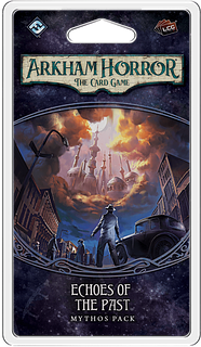 Portada juego de mesa Arkham Horror: El Juego de Cartas – Ecos del Pasado: Pack de Mitos