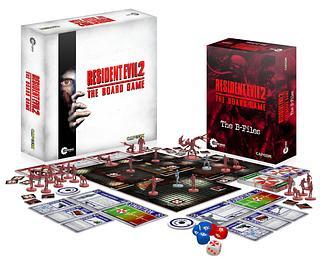 Portada juego de mesa Resident Evil 2: The Board Game