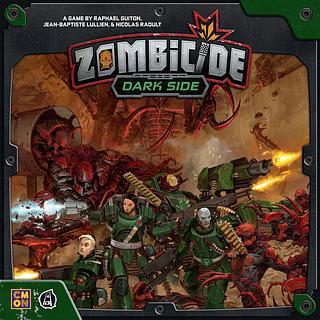 Portada juego de mesa Zombicide: Dark Side