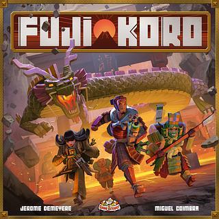 Portada juego de mesa Fuji Koro