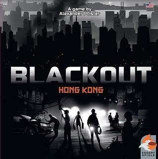 Portada juego de mesa Blackout: Hong Kong
