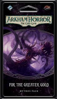 Portada juego de mesa Arkham Horror: El Juego de Cartas – Por el Bien Común: Pack de Mitos
