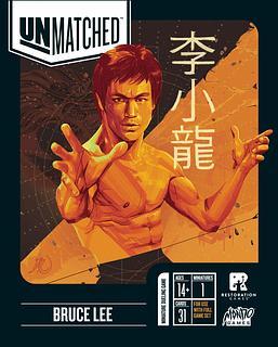 Portada juego de mesa Unmatched: Bruce Lee