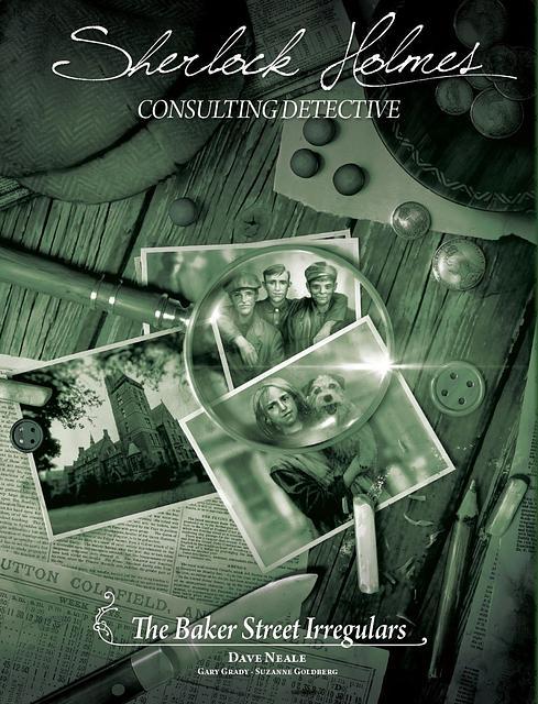 Portada juego de mesa Sherlock Holmes Consulting Detective: Los irregulares de Baker Street