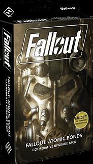 Portada juego de mesa Fallout: Enlaces atómicos